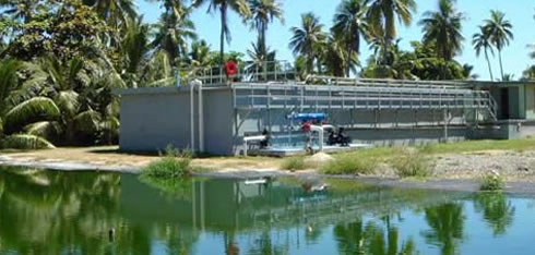 International water treatment projects